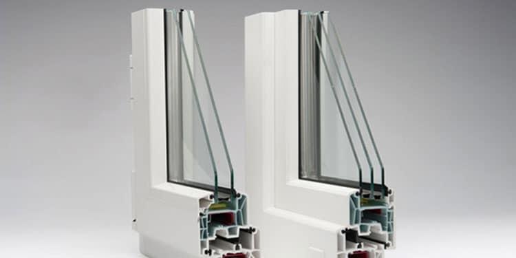پنجره دوجداره UPVC سری 60 ، 70