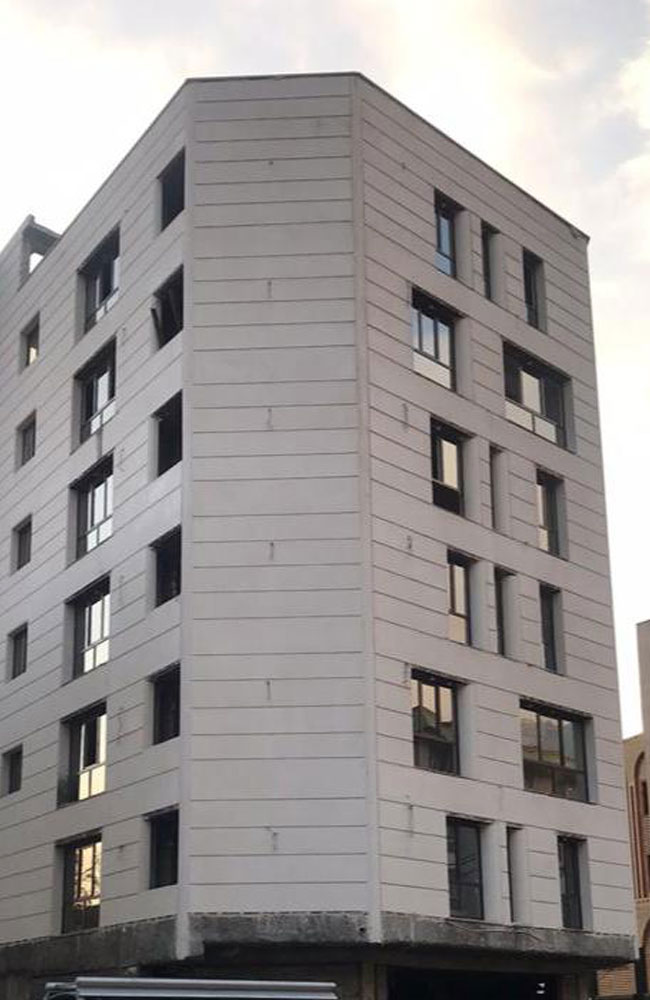 پروژه پنجره دوجداره پروفیل وین تک در درکه