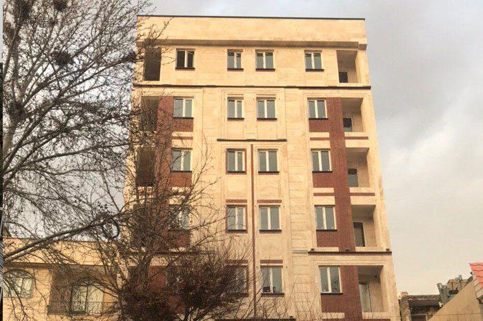 پروژه پنجره دوجداره پروفیل وین تک واقع در هروی